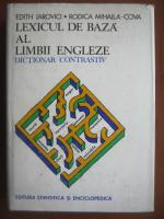 Anticariat: Edith Iarovici, Rodica Mihaila-Cova - Lexicul de baza al limbii engleze. Dictionar contrastiv