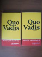 Anticariat: Henryk Sienkiewicz - Quo Vadis (2 volume, Cotidianul)