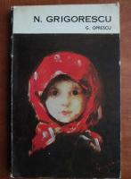 Anticariat: G. Oprescu - N. Grigorescu