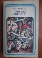 Anticariat: Gh. Braescu - Unde sta norocul