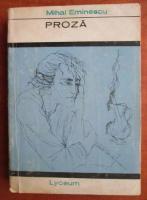 Anticariat: Mihai Eminescu - Proza