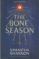 Anticariat: Samantha Shannon - The bone season / Sezonul oaselor