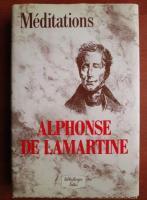 Anticariat: Alphonse de Lamartine - Meditations