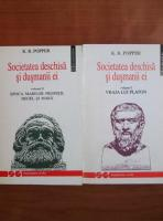 Anticariat: Karl R. Popper - Societatea deschisa si dusmanii ei (2 volume)