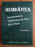 Romania in anticamera Conferintei de Pace de la Paris. Documente