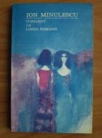 Anticariat: Ion Minulescu - Corigent la limba romana