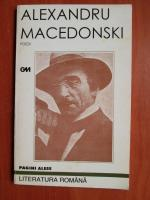 Alexandru Macedonski - Pagini alese