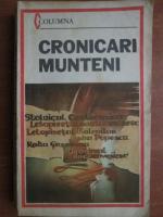 Anticariat: Cronicari munteni (Stolnicul Cantacuzino, Radu Greceanu, etc)