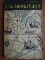 Anticariat: N. Fradkin - Din istoria hartii