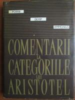 Porfir - Comentarii la categoriile lui Aristotel