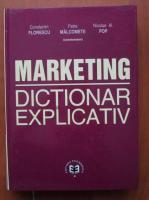 Constantin Florescu - Marketing. Dictionar explicativ
