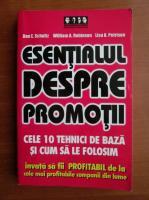 Anticariat: Don E. Schultz - Esentialul despre promotii. Cele 10 tehnici de baza si cum sa le folosim