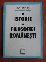 Anticariat: Ion Ianosi - O istorie a filosofiei romanesti