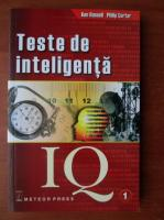 Anticariat: Ken Russell - Teste de inteligenta IQ, volumul 1