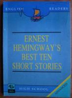 Ernest Hemingway - Best ten short stories
