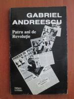 Gabriel Andreescu - Patru ani de revolutie