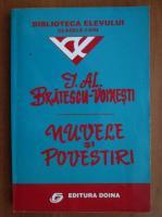 Anticariat: Ioan Alexandru Bratescu Voinesti - Nuvele si povestiri