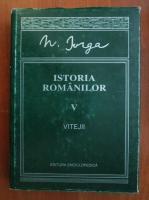 Nicolae Iorga - Istoria romanilor, vol. 5. Vitejii