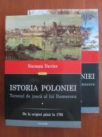 Anticariat: Norman Davies - Istoria Poloniei. Terenul de joaca al lui Dumnezeu (2 volume)