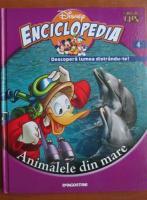 Anticariat: Enciclopedia Descopera lumea distrandu-te, volumul 4. Animalele din mare