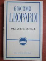 Giacomo Leopardi - Mici opere morale