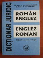Hanga Vladimir - Dictionar juridic roman-englez