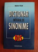 Anticariat: Maria Paun - Dictionar integral de sinonime