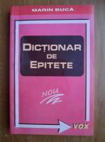 Anticariat: Marin Buca - Dictionar de epitete
