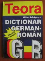 Anticariat: Mihai Isbasescu - Dictionar german-roman (60.000 cuvinte)
