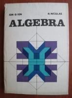 Anticariat: Ion D. Ion - Algebra