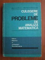 Anticariat: Mariana Craiu - Culegere de probleme de analiza matematica