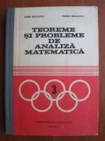Sorin Radulescu - Teoreme si probleme de analiza matematica