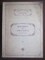 Anticariat: Boethius si Salvianus - PSB 72. Scrieri