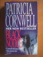 Anticariat: Patricia Cornwell - Black notice