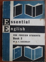Anticariat: C. E. Eckersley - Essential English (book 3)