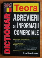Anticariat: Dan Dumitrescu - Dictionar englez-roman de abrevieri si informatii comerciale