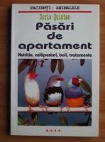 Doris Quinten - Pasari de apartament. Nutritie, adaposturi, boli, tratamente