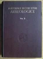 Anticariat: E. Condurachi - Materiale si cercetari arheologice (volumul 2)