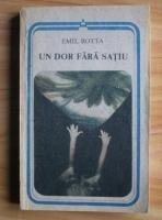 Anticariat: Emil Botta - Un dor fara satiu (poezii)