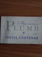 Anticariat: George Bacovia - Plumb (editia centenar)