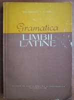 N. I. Barbu - Gramatica limbii latine