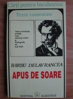 Anticariat: Barbu Delavrancea - Apus de soare