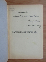 Anticariat: Ioan Massoff - Matei Millo si timpul sau (cu autograful autorului)