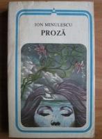 Anticariat: Ion Minulescu - Proza