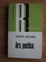 Anticariat: Tudor Arghezi - Ars poetica