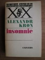 Anticariat: Alexandr Kron - Insomnie