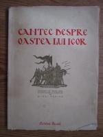 Anticariat: Cantec despre oastea lui Igor, fiul lui Sveatoslav, nepotul lui Oleg