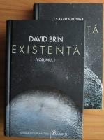 Anticariat: David Brin - Existenta (2 volume)