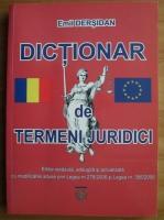 Emil Dersidan - Dictionar de termeni juridici uzuali