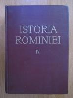 Anticariat: Istoria Romaniei (volumul 4)
